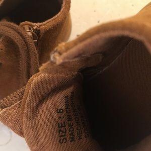 GAP Shoes - ❤️ NWOT GAP Mid Top Dress Shoes Cognac Toddler 6